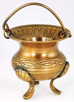 Celtic Brass Cauldron | AG