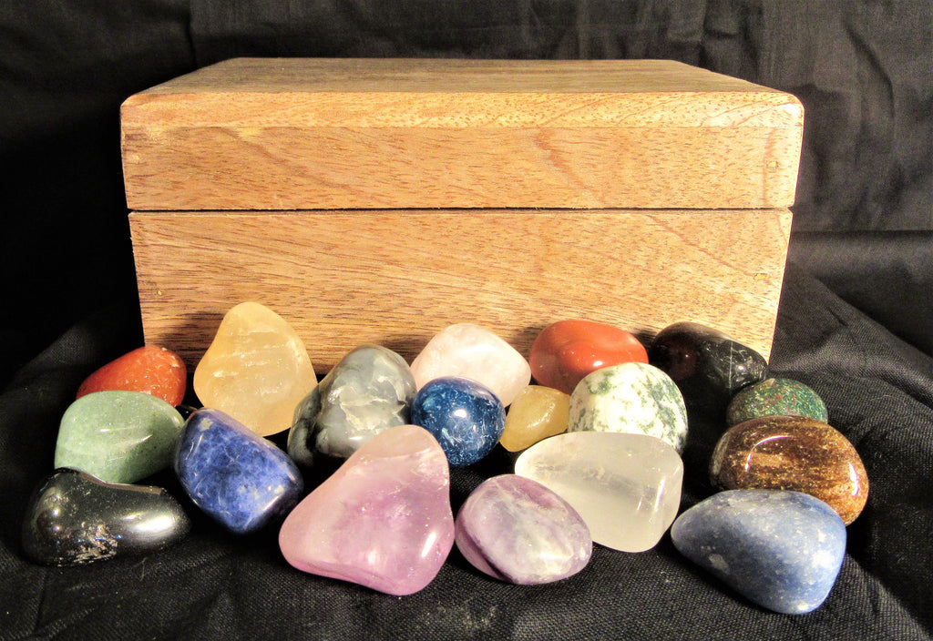 Essential Tumbled Ritual Crystal & Gemstone Collection
