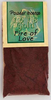 Fire of Love Powder Incense | Pagan Portal