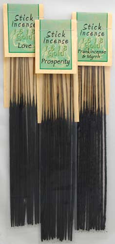 1618 Gold Stick Incense Collection