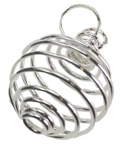 Silver Plated Coil - Pendant | AG