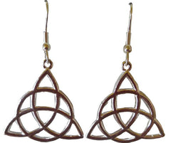 Triquetra Earrings | Pagan Portal