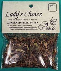 Lady's Choice Vitality Tea | Pagan Portal