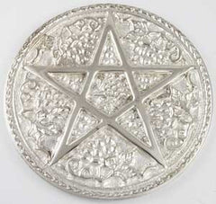 Pentagram Altar Tile - Large - 6""