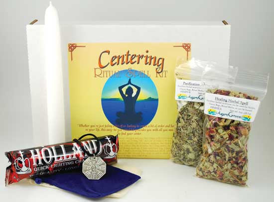 Centering Complete Ritual & Spell Kit
