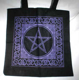 Celtic Pentacle Totebag