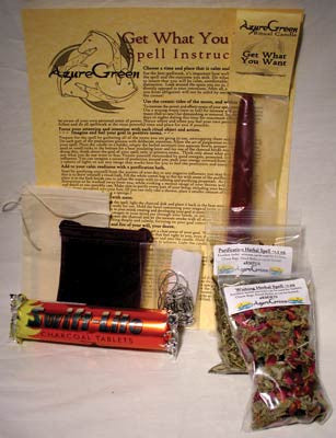 Get What You Want Spell & Ritual Kit | AG