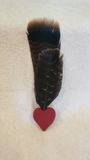 Smudge Feather -Red | Pagan Portal