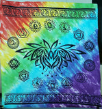 Chakra Lotus Flower Altar Cloth