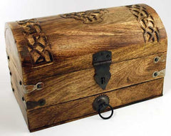 Celtic Cross Treasure Chest / Box