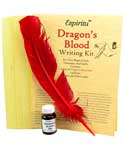 Dragon's Blood Writing Kit | Pagan Portal