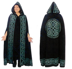 Green Celtic Ritual Robe or Cloak | Pagan Portal