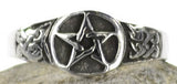 Pewter Pentagram Ring | AG