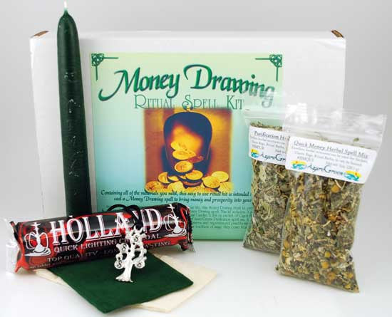 Money Drawing Ritual Kit