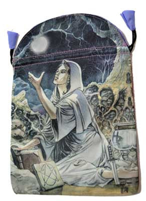 "Drawing Down the Moon Tarot Bag by Lo Scarabeo 6"" x 9"""