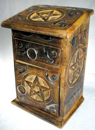 Pentagram Herb Cupboard / Box