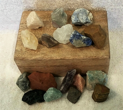 Essential Raw Crystal & Gemstone Collection
