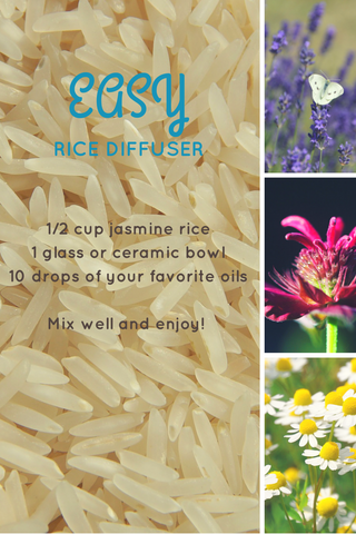 essential oil rice diffuser