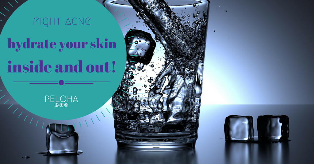 hydrate to prevent breakouts
