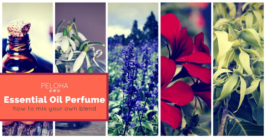 how to make perfume using essential oils