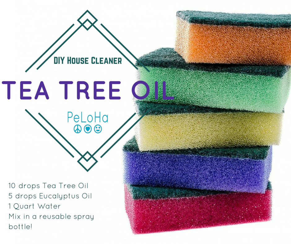 tea tree oil house cleaner