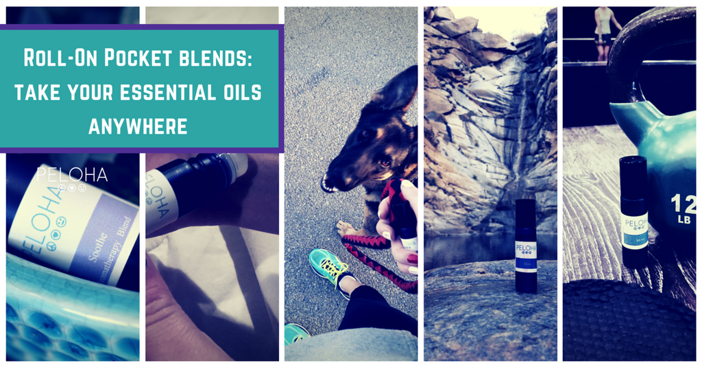 how to use roll on essential oil blends