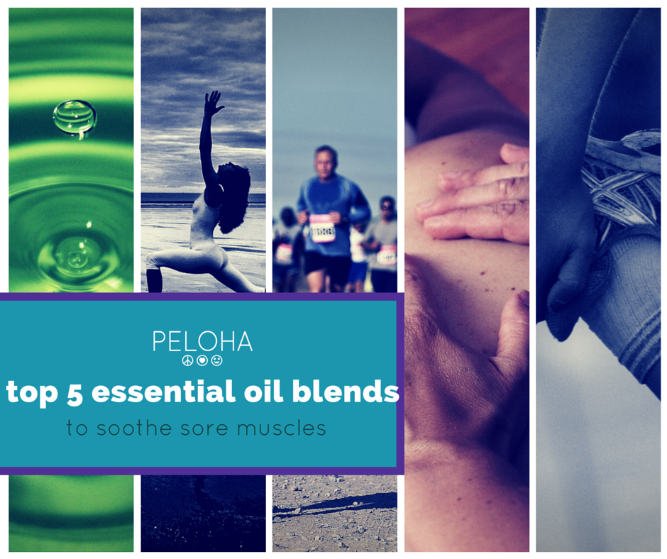 essential oil blends for muscle soreness