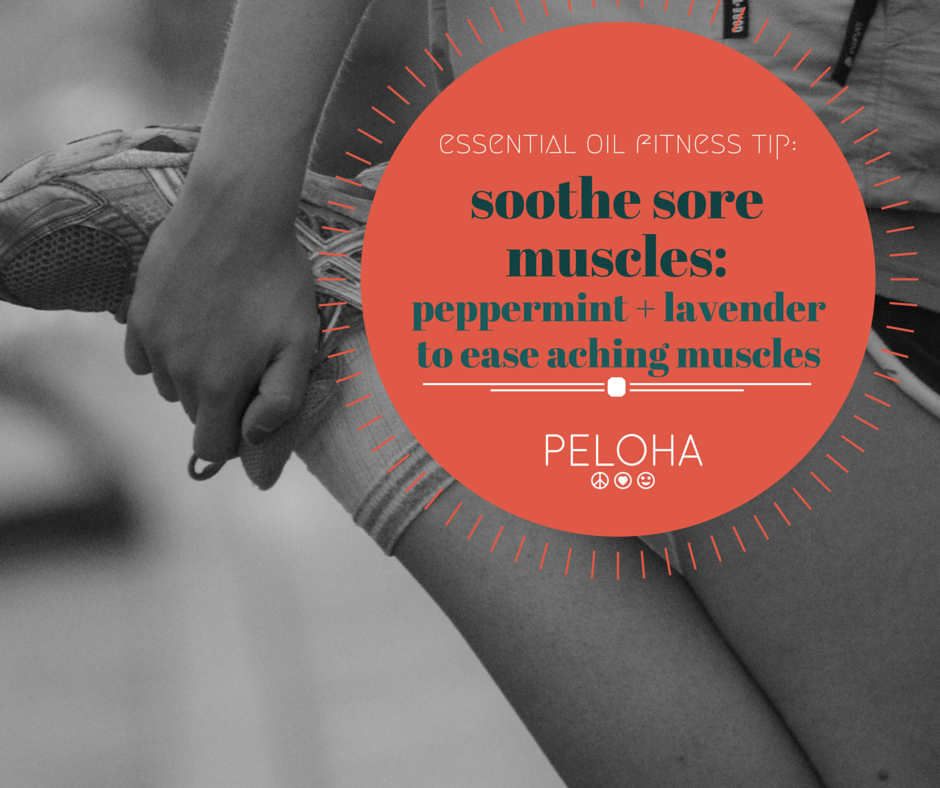 how to use essential oils for sore muscles