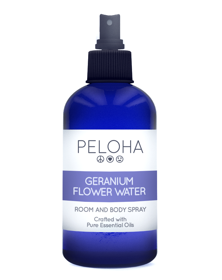 Geranium Flower Water Room & Body Spray