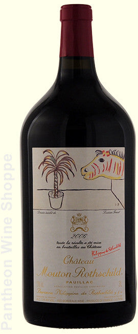2006-Chateau Mouton Rothschild 3 Liter