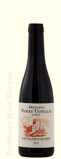 2010-Domaine Pierre Usseglio Chateauneuf du Pape Rouge 375 ml