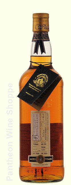 1968-Duncan Taylor Bunnahabhain 39 Years Old Cask Strength Single Malt Scotch Whisky