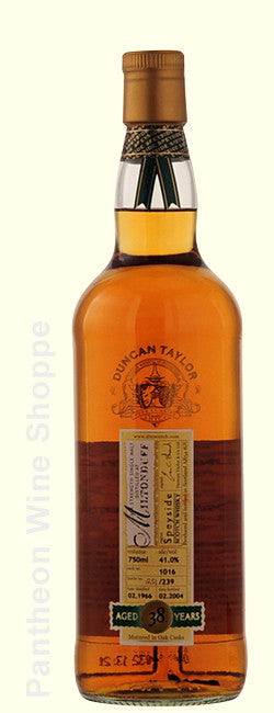 1966-Duncan Taylor Miltonduff 38 Years Old Cask Strength Single Malt Scotch Whisky