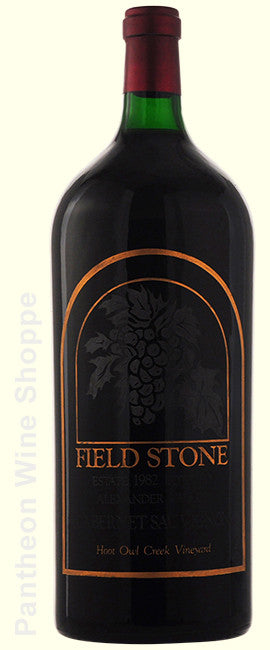 1982-Field Stone Hoot Owl Creek Vineyard Cabernet Sauvignon-6 Liter