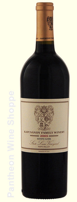 2005-Kapcsandy Family Winery State Lane Vineyard Estate Cuvee