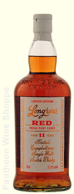 1973-Longrow Red Limited Edition 11 Years Old Fresh Port Cask Single Malt Scotch Whisky (Cask Strength)