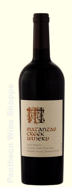 2006-Matanzas Creek Jackson Park Vineyard Merlot