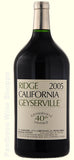 2005-Ridge Vineyards Geyserville 3 Liter