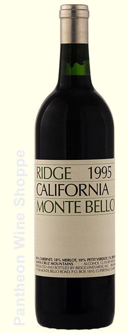 1995-Ridge Vineyards Monte Bello