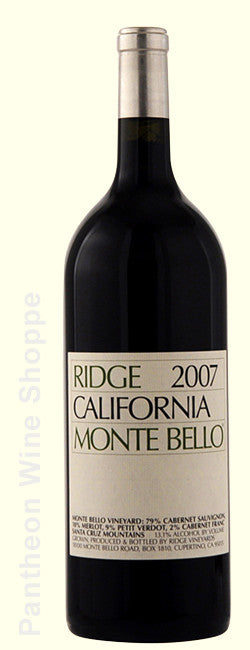 2007-Ridge Vineyards Monte Bello 1.5 Liter