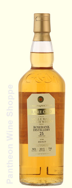 1990-Rosebank Distillery 25 Year Old Single Malt Scotch Whisky