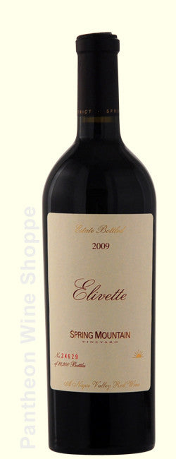 2009-Spring Mountain Vineyard Elivette