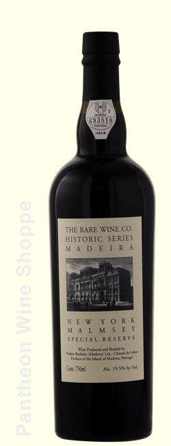 "Non Vintage-The Rare Wine Company Historic Series Malmsey Madeira ""New York"" Special Reserve"