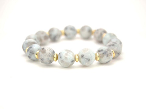 Faith Jasper Beaded Bracelet