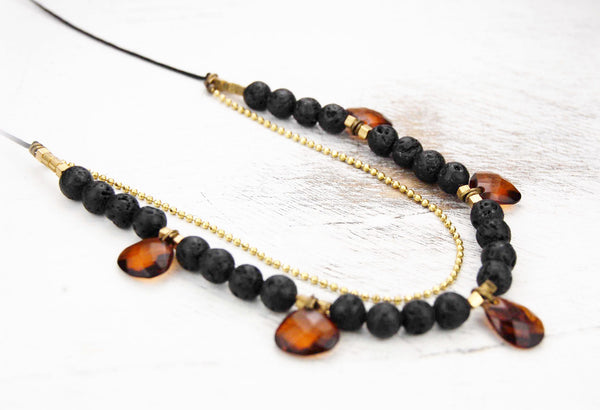Lavinya Bead Mix Necklace