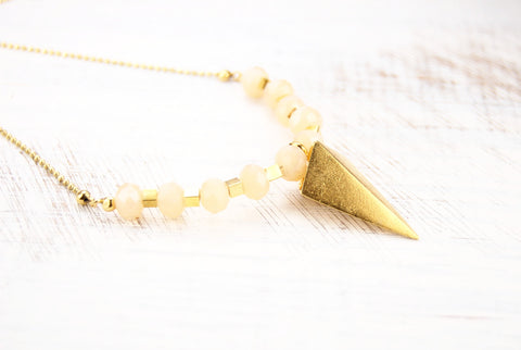 Evie Gold Arrow Necklace