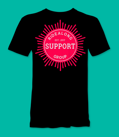 Ridealong Support Group T Shirt