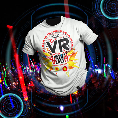 Amazing Colours VR Exclusive / Unisex Tshirt package  $45 USD