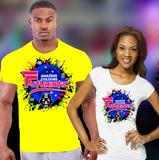 Amazing Colours Futuristic  T Shirt Section - $100 ECD early bird | $45 USD