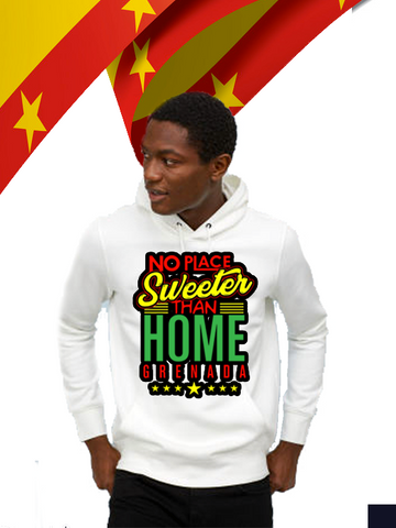 Hooded Sweater - NO PLACE SWEETER THAN HOME 45TH